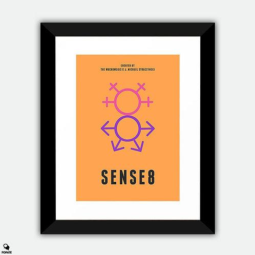 Sense8 Minimalist Framed Print