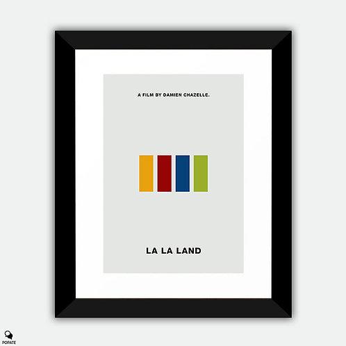 La La Land Minimalist Framed Print - Someone in the Crowd