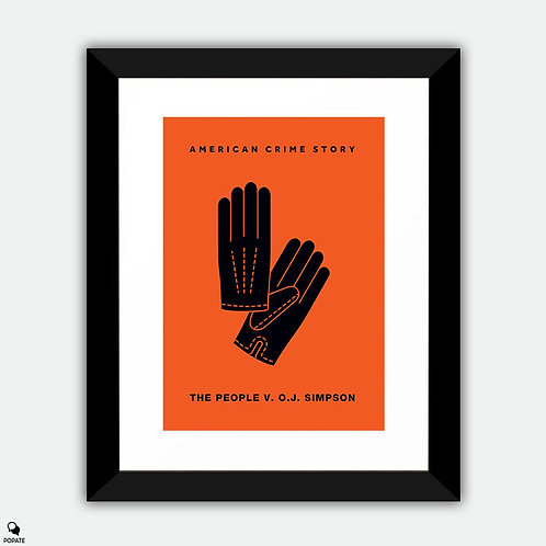 American Crime Story: The People v. O.J. Simpson Minimalist Framed Print