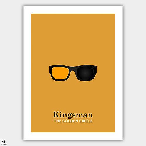 Kingsman: The Golden Circle Minimalist Poster