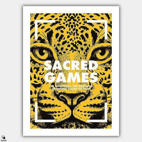 Sacred Games Alternative Poster