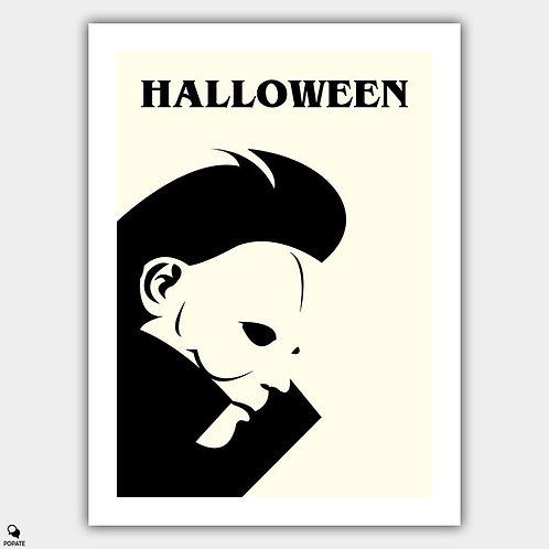 Halloween Minimalist Poster - Michael