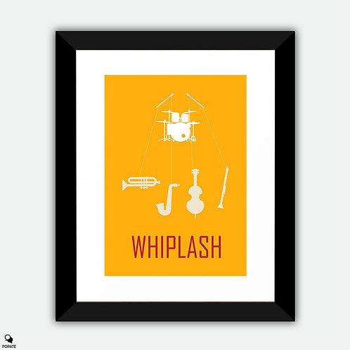 Whiplash Minimalist Framed Print