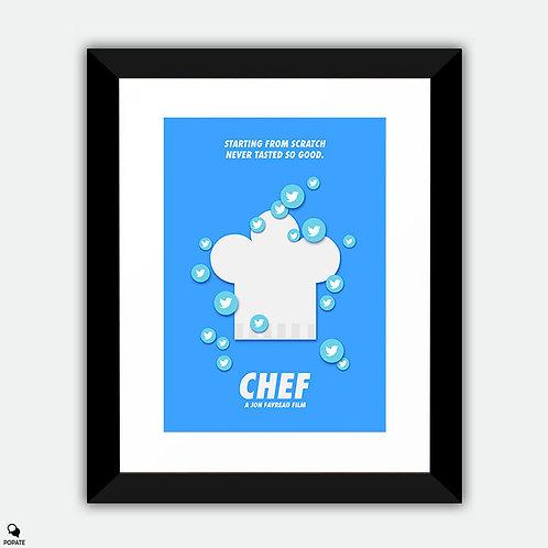 Chef Alternative Framed Print - Tweet
