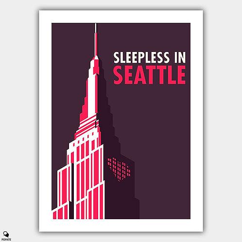 Sleepless in Seattle Minimalist Poster