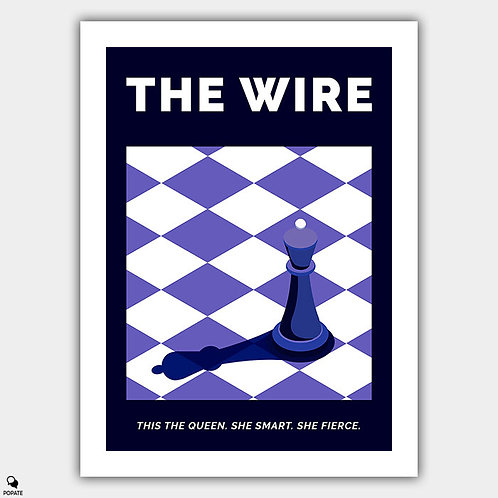 The Wire Alternative Poster - The Queen