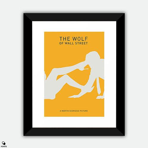 The Wolf Of Wall Street Minimalist Framed Print