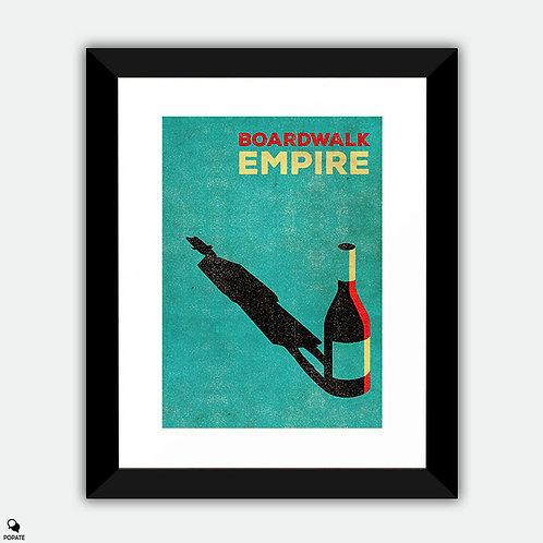 Boardwalk Empire Vintage Framed Print