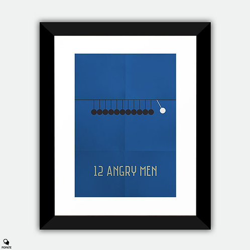 12 Angry Men Minimalist Framed Print