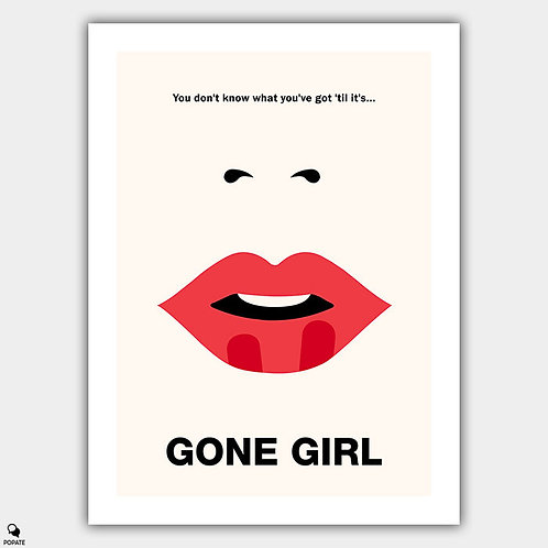 Gone Girl Minimalist Poster