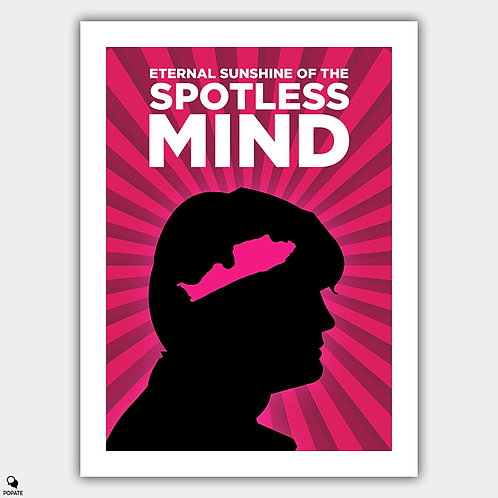 Eternal Sunshine of the Spotless Mind Minimalist Poster