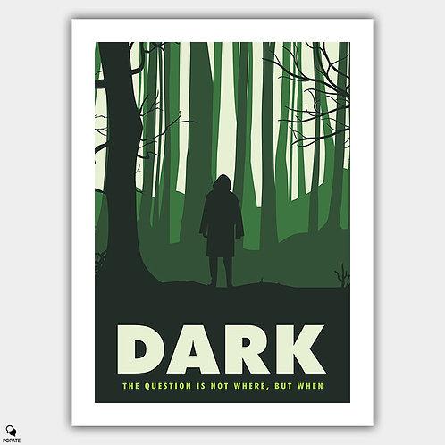 Dark Minimalist Poster - The Stranger