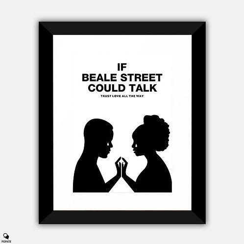 If Beale Street Could Talk Minimalist Framed Print