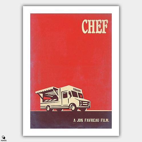 Chef Vintage Poster
