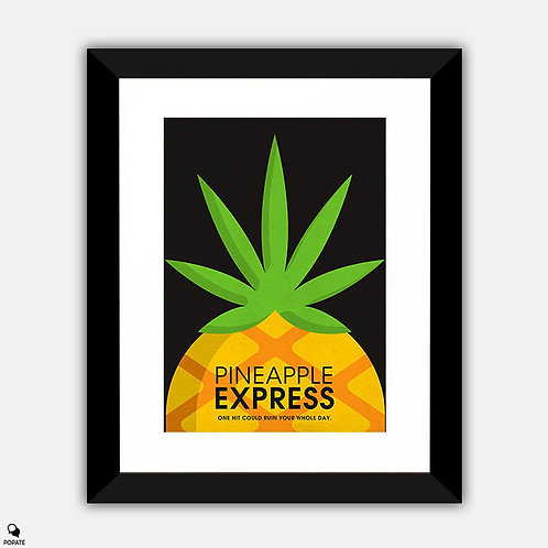 Pineapple Express Alternative Framed Print