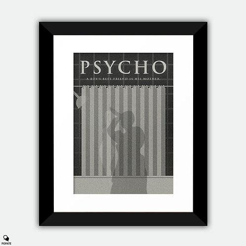 Psycho Alternative Framed Print - Shower