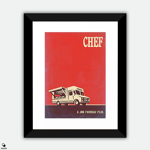 Chef Vintage Framed Print