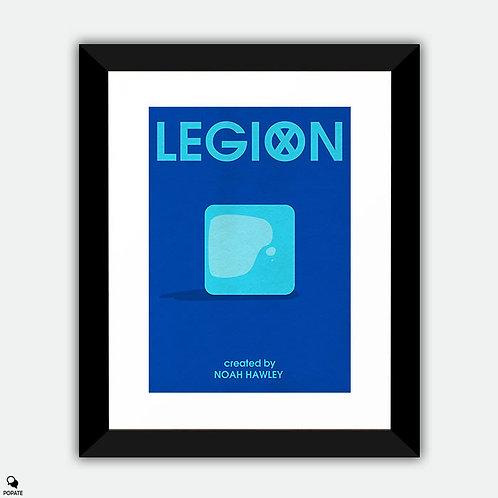 Legion Minimalist Framed Print - Astral Plane