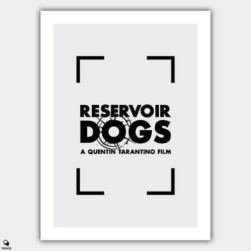 Reservoir Dogs Vintage Poster - Mr White