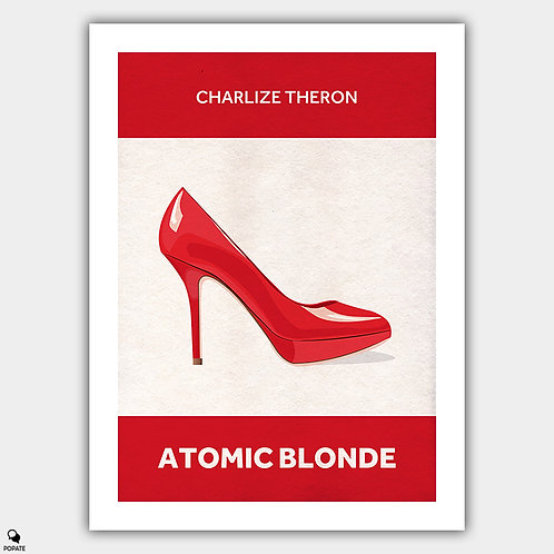 Atomic Blonde Minimalist Poster