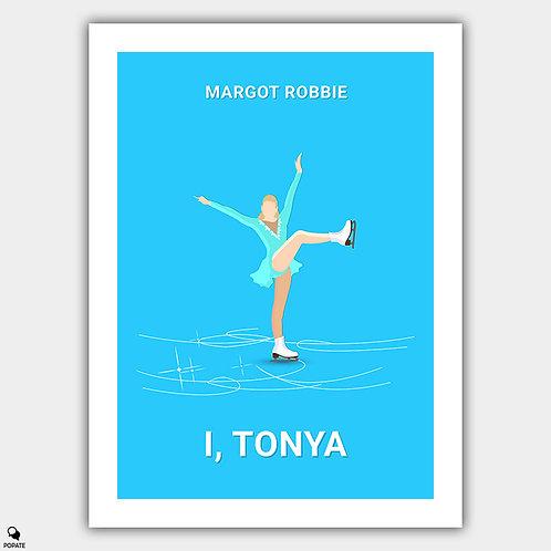 I, Tonya Minimalist Poster