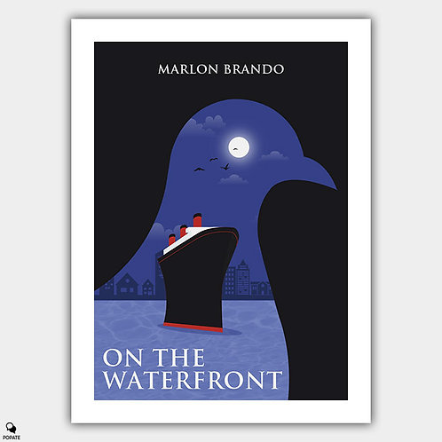 On the Waterfront Alternative Poster