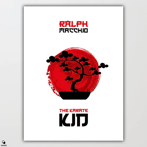 The Karate Kid Minimalist Poster - Bonsai