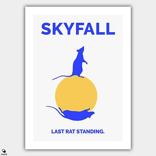 Skyfall Minimalist Poster