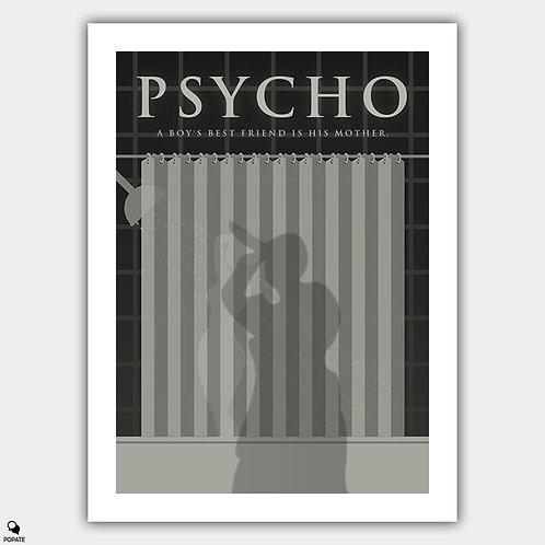 Psycho Alternative Poster - Shower