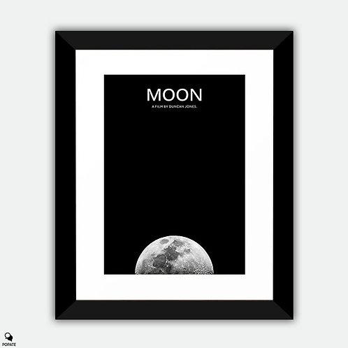 Moon Minimalist Framed Print