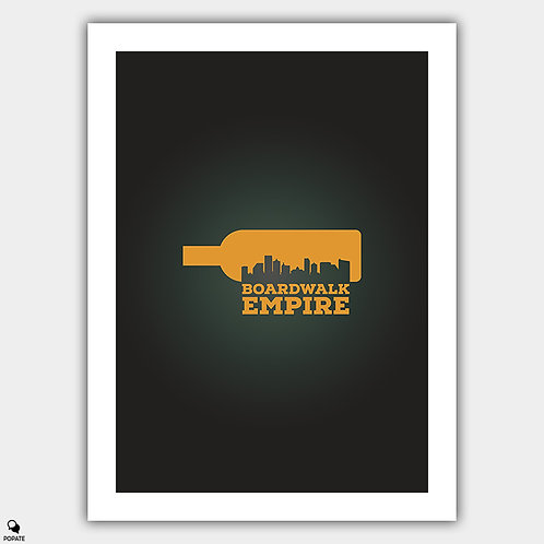 Boardwalk Empire Minimalist Poster - Atlantic City