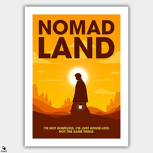 Nomadland Minimalist Poster
