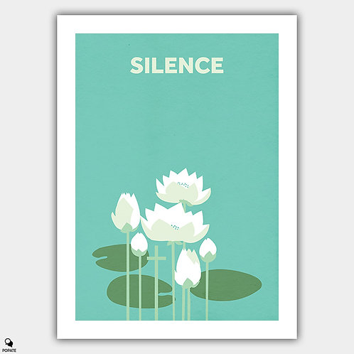 Silence Minimalist Poster