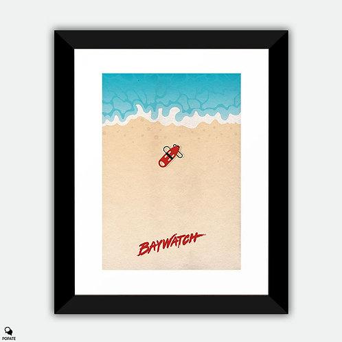 Baywatch Alternative Framed Print