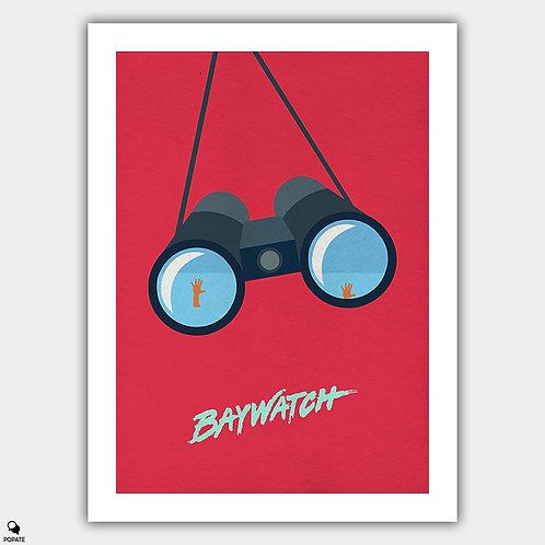 Baywatch Minimalist Poster