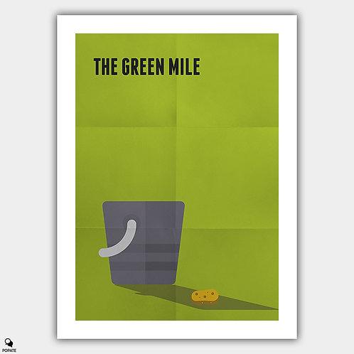 The Green Mile Minimalist Poster - Bucket