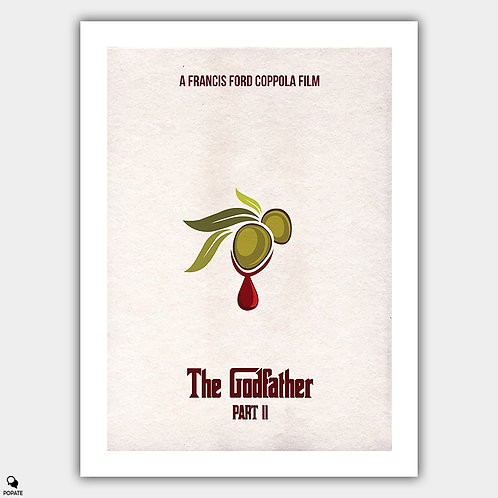 The Godfather Part II Minimalist Poster