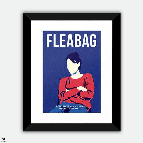 Fleabag Minimalist Framed Print - Stage