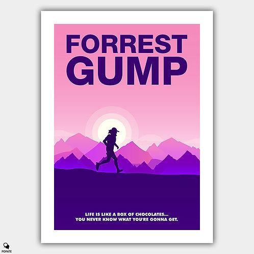 Forrest Gump Minimalist Poster