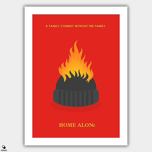 Home Alone Minimalist Poster - Harry