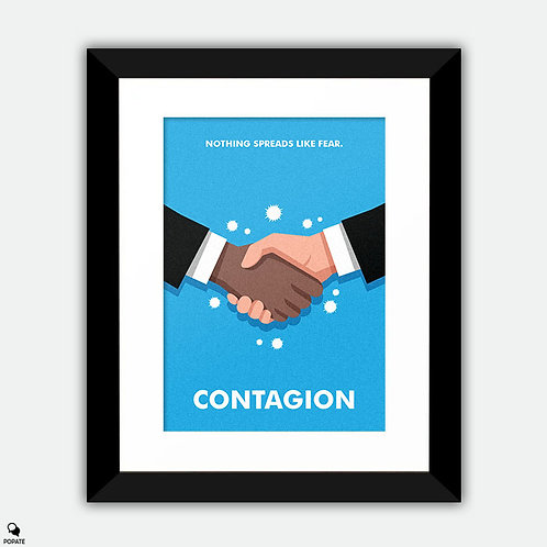 Contagion Alternative Framed Print