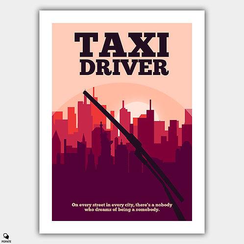 Taxi Driver Minimalist Poster