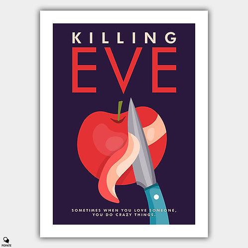 Killing Eve Minimalist Poster