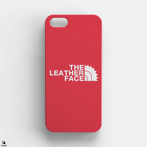 The Leather Face Alternative iPhone Case from The Texas Chainsaw Massacre