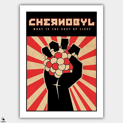 Chernobyl Vintage Alternative Poster
