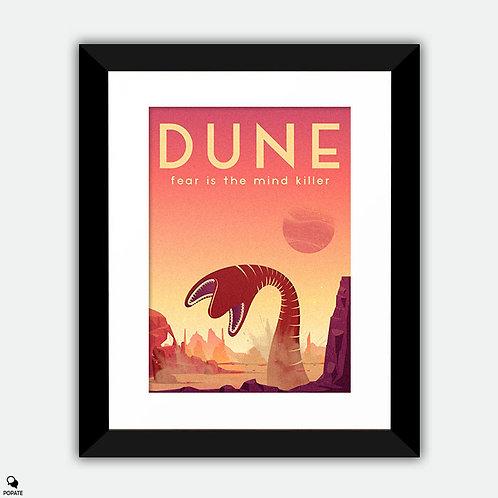 Dune Alternative Framed Print