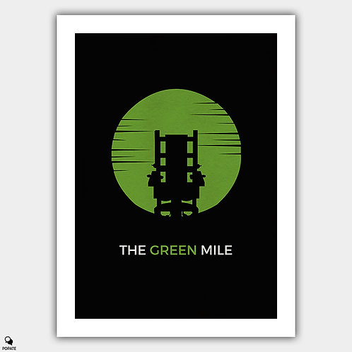 The Green Mile Minimalist Poster - Electric Chair
