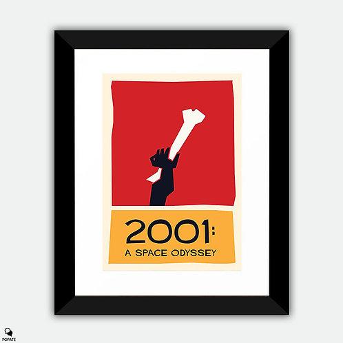 2001: A Space Odyssey Vintage Saul Bass Framed Print