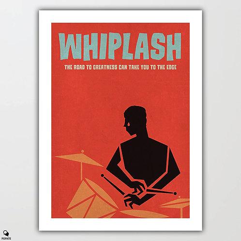 Whiplash Alternative Vintage Jazz Poster