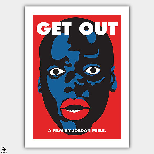 Get Out Alternative Poster - Blackface